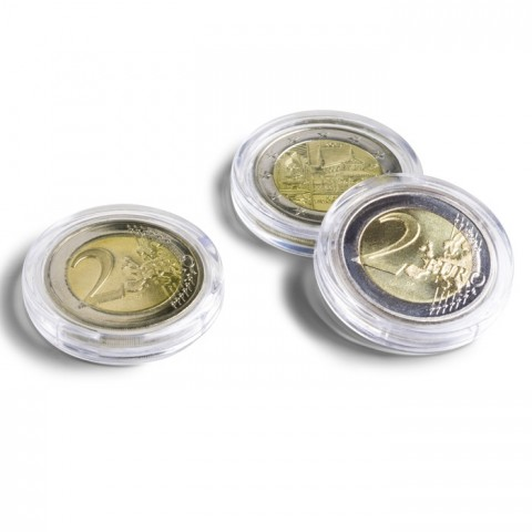 Leuchtturm PREMIUM ULTRA 10 capsulas for 2 Euro coins