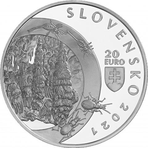 20 Euro Slovakia 2021 - Demänovská Cave of Liberty (Proof)