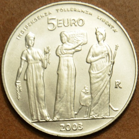 5 Euro San Marino 2003 - 1700 years of San Marino (BU)