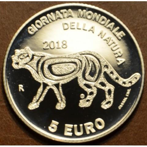 5 Euro San Marino 2018 - World nature day (BU)