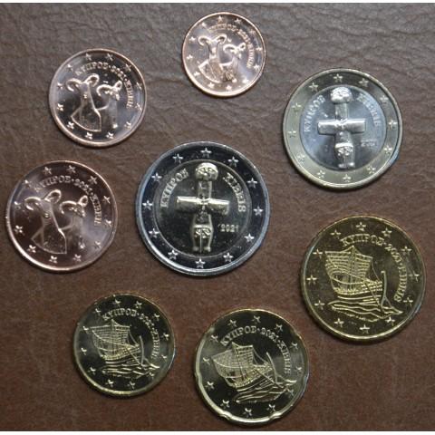 Set of 8 eurocoins Cyprus 2020 (UNC)