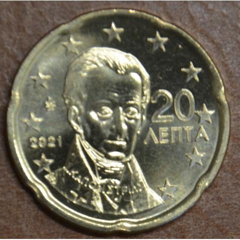 20 cent Greece 2021 (UNC)