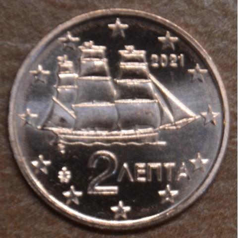 2 cent Greece 2021 (UNC)