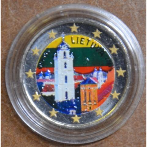 2 Euro Lithuania 2017 - Vilnius IV. (colored UNC)