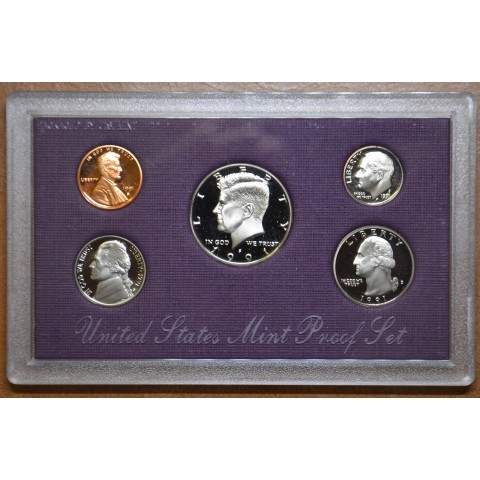 USA set of 5 coins 1991 (Proof)