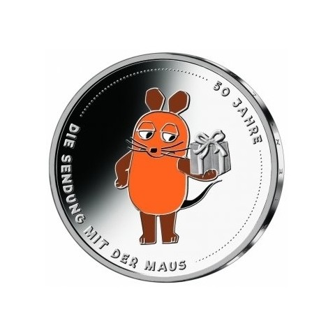 20 Euro Germany 2021 -  Broadcast with the Mouse (UNC)