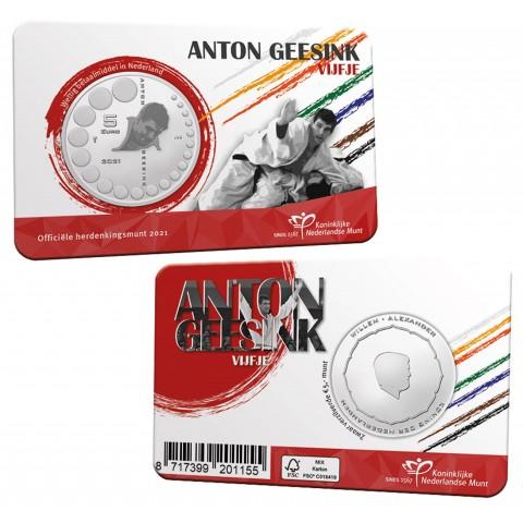 5 Euro Netherlands 2021 - Anton Geesink (UNC)