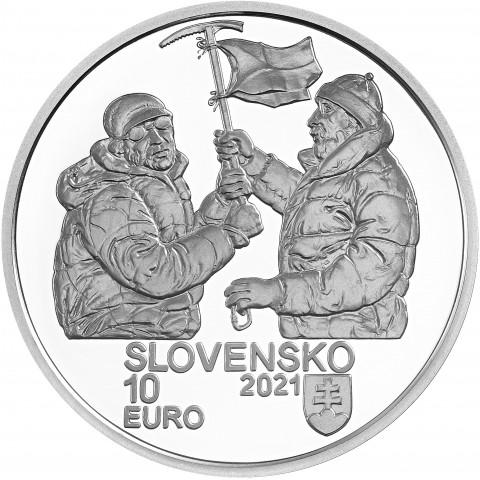 10 Euro Slovakia 2021 - Nanga Parbat (Proof)