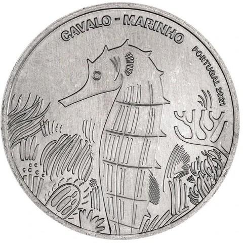 5 Euro Portugal 2021 - Seahorse (UNC)