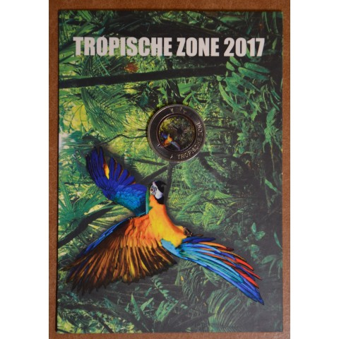 5 Euro Germany 2017 Tropical Zone (colored UNC)
