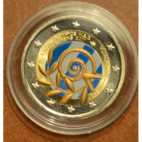 2 Euro Greece 2011 - The Special Olympics World Summer Games - Athens IV. (colored UNC)