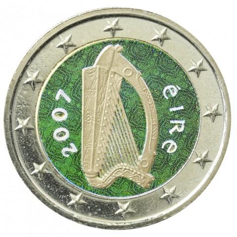 2 Euro Ireland 2007 (colored UNC)