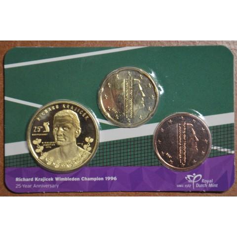 5+20 cent Netherlands 2021 - Richard Krajicek (BU card)