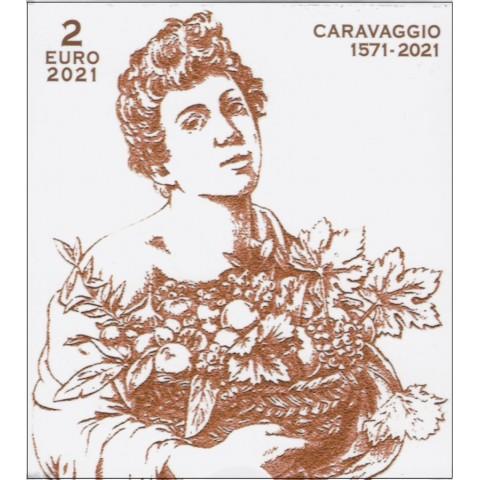 2 Euro Vatican 2021 - 450th Anniversary of the Birth of Caravaggio (Proof)