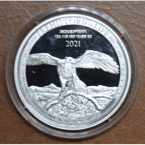 20 Francs Congo 2021 - Archaeopteryx (1 oz. Ag)