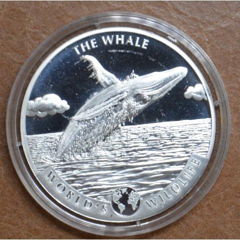 20 Francs Congo 2020 - Whale (1 oz. Ag)