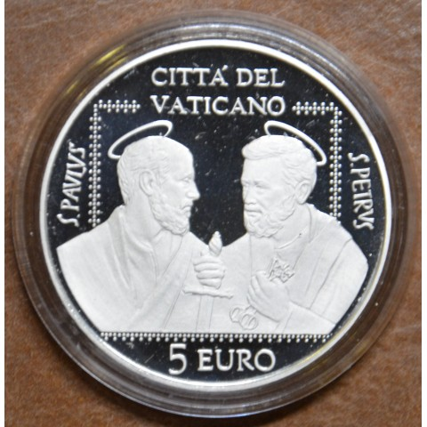 5 Euro Vatican 2021 - St. Peter and Paul (Proof)