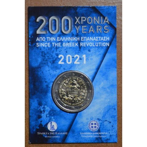 2 Euro Greece 2021 - 200 years of the Greek Revolution (BU)