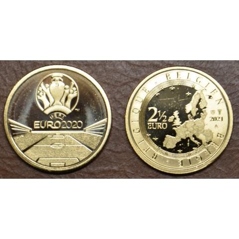 2,5 Euro Belgium 2021 - EURO 2020 (UNC)