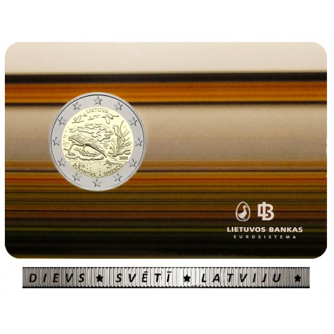 Error coin 2 Euro Litva 2021 - Žuvintas (BU)