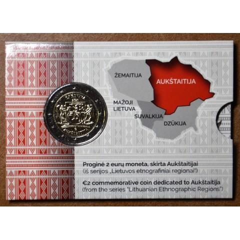 2 Euro Lithuania 2020 - Aukštaitija (BU card)