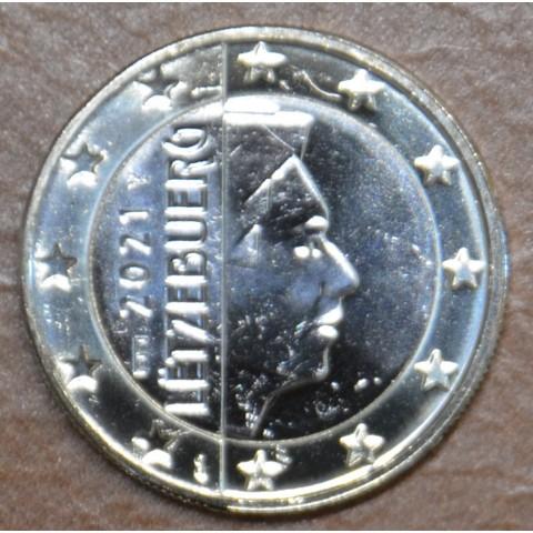 """1 Euro Luxembourg 2021 with """"bridge"""" mintmark (UNC)"""