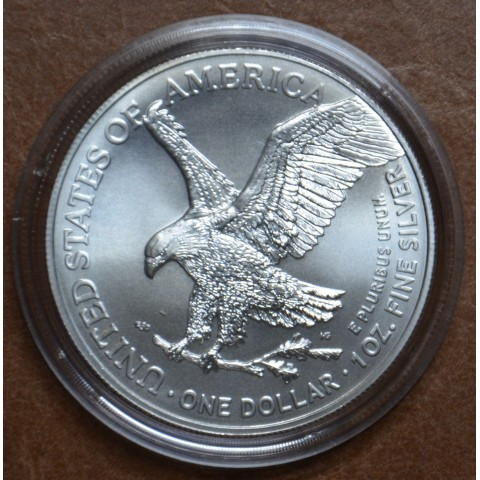 1 dollar USA 2021 American Eagle new motive (1 oz. Ag)