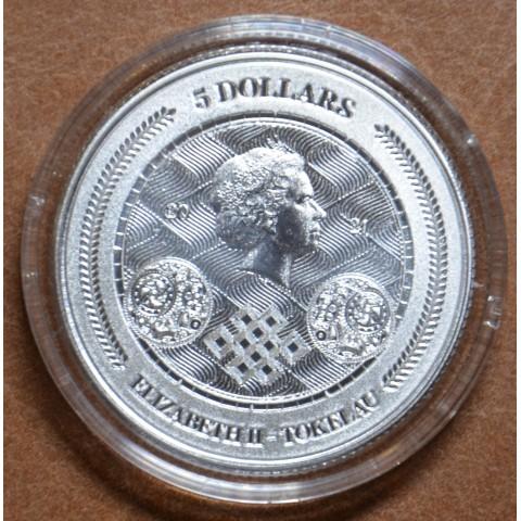 5 dollars Tokelau 2021 Chronos (1 oz. Ag)
