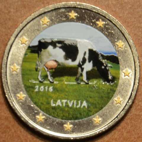 2 Euro Latvia 2016 - Latvian agricultural industry IV. (colored UNC)