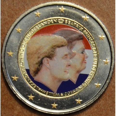 2 Euro Netherlands 2014 - Double portrait II. (colored UNC)