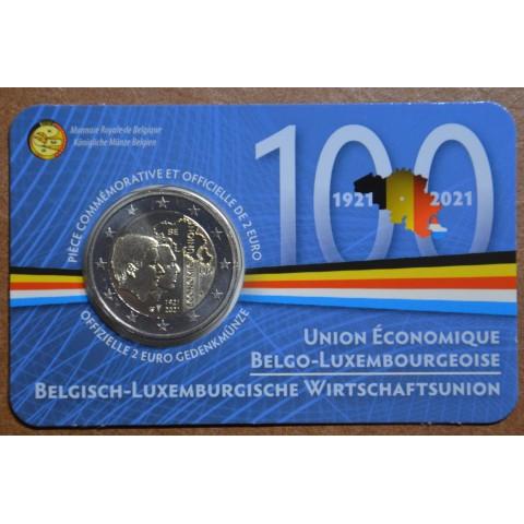 2 Euro Belgium 2021 - 100 years of BLEU (BU - french side)