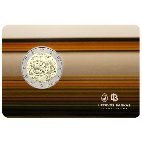 2 Euro Litva 2021 - Žuvintas (BU)