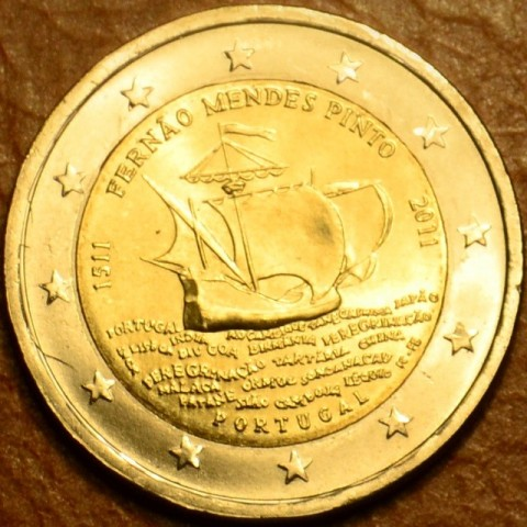 2 Euro Portugal 2011 - 500th annivesary of the birth of Fernão Mendes Pinto (UNC)