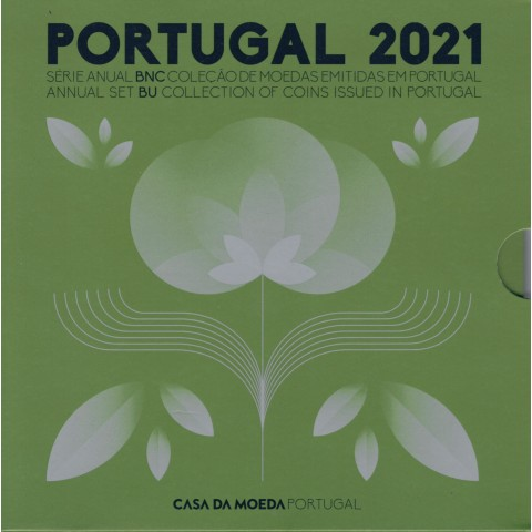 Portugal 2021 set of 8 coins (BU)