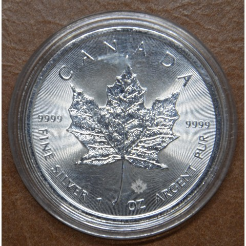 5 dollars Canada 2021 Maple leaf (1 oz. Ag)