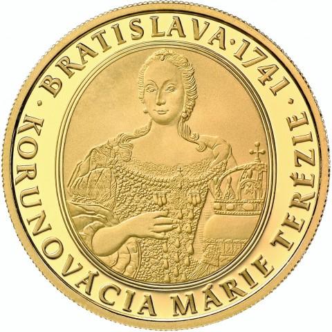 100 Euro Slovakia 2016 - Maria Theresia  (Proof)