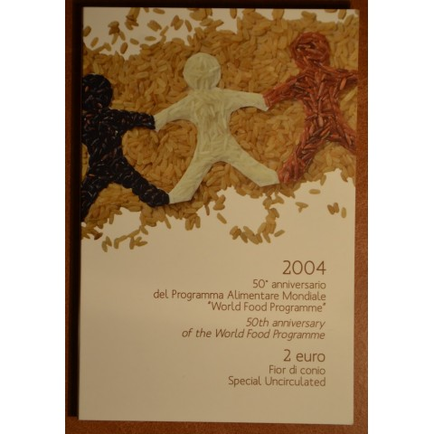 2 Euro Italy 2004 - Fifth Decade of the World Food Programme (BU)