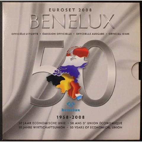 BeNeLux 2008 - set of 24 eurocoins (BU)