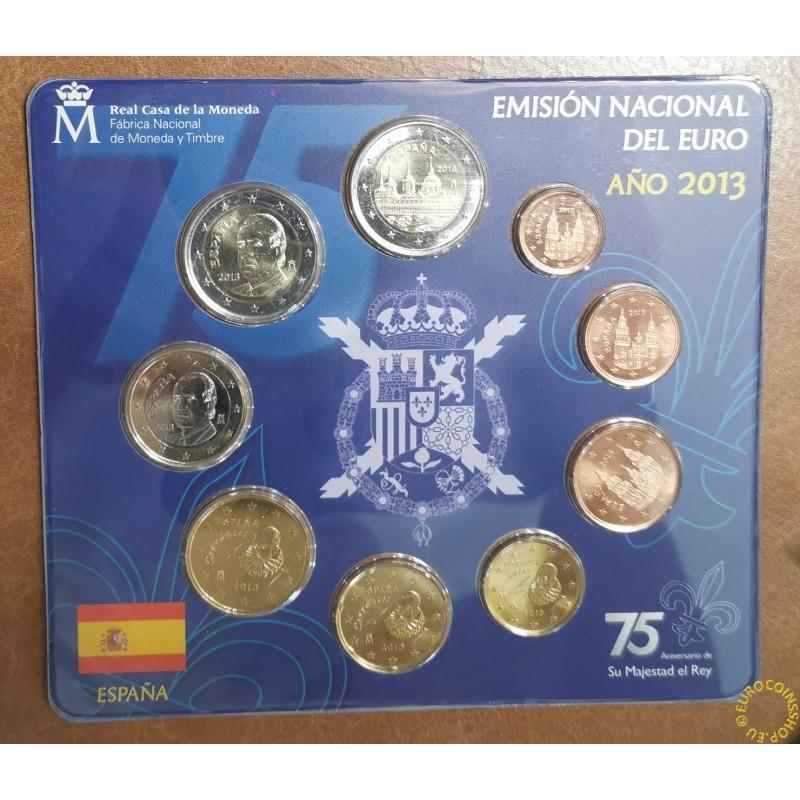 Spain 2013 set of 9 coins (BU)