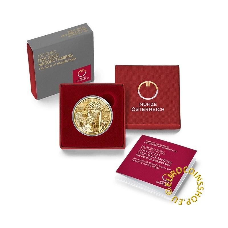 100 Euro Austria 2019 - Gold of Mesopotamia (Proof)