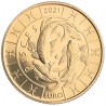 5 Euro San Marino 2021 Zodiac: Pisces (UNC)