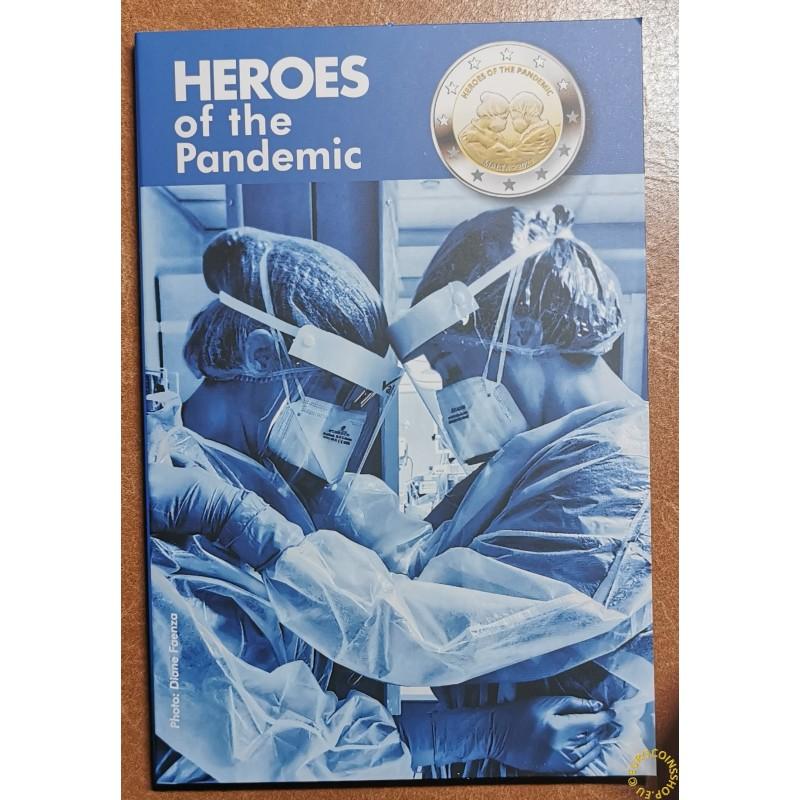 2 Euro Malta 2021 - Heroes of the Pandemic (BU)