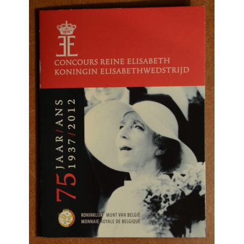 2 Euro Belgium 2012 - The 75th anniversary of the Queen Elisabeth Competition (BU card)