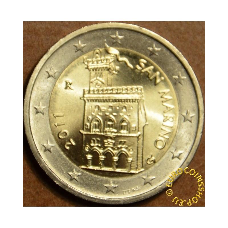 2 Euro San Marino 2011 - Government House (UNC)