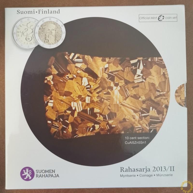 Finland 2013-II set of 9 eurocoins (BU)