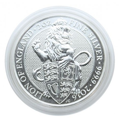 39 mm Lindner capsula for 2 OZ coin UK (1 pcs)