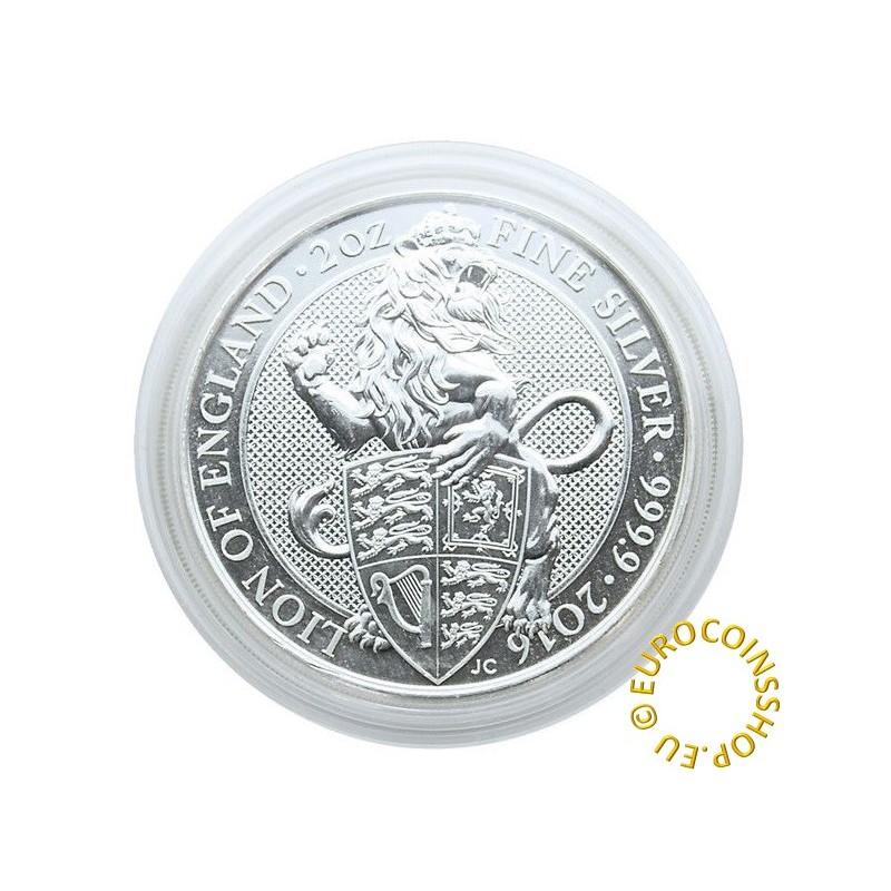 Lindner capsula for 2 OZ coin UK - Ø 39 mm (1 pcs)