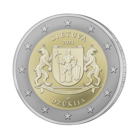 Presale 2 Euro Litva 2021 - Dzūkija (UNC)