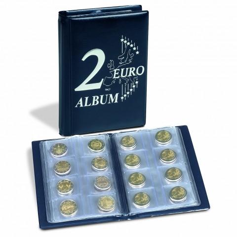 Pocket album Leuchtturm for 48 2 Euro coins