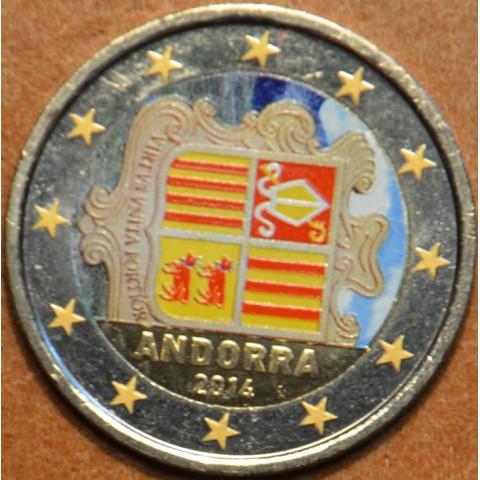 2 Euro Andorra 2014 (colored UNC)
